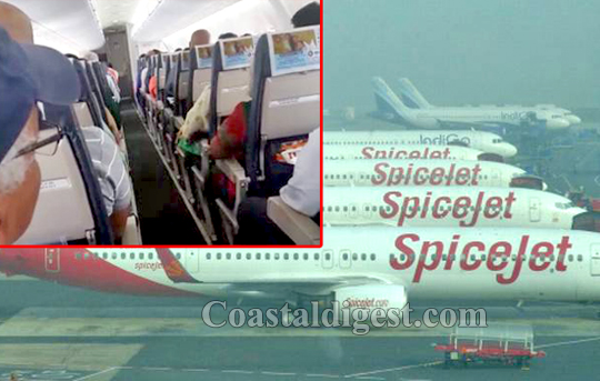 SpiceJet plays national anthem with passengers strapped to seats