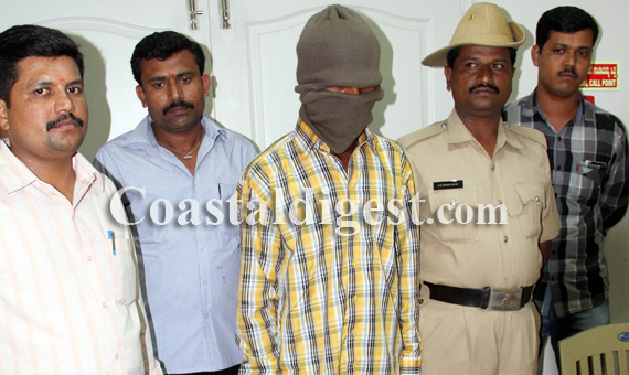 Psycho Ravi' held in Bangalore | Coastaldigest com - The Trusted