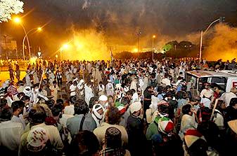 Anti-govt protesters