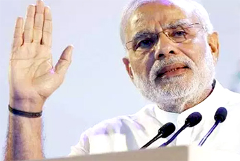 Nationalism is the identity of BJP: Modi