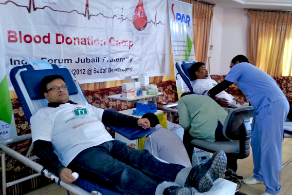 Blood donation in india