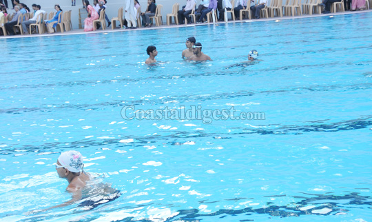 International Standard Swimming Pool Inaugurated At St Aloysius College