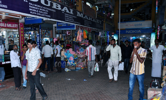 Fake mobile phones seized from Dubai Market