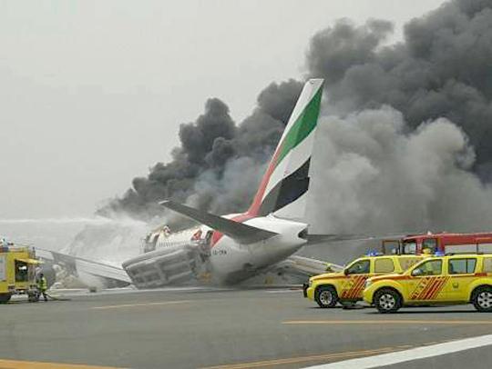 Emirates plane from Kerala crash lands in Dubai after