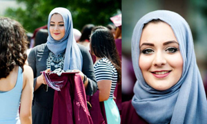 Hijab-clad Muslim girl named best-dressed student at US school