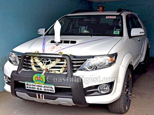 Govt Buys White Toyota Fortuner For Cm After Baby Crow Sits On His