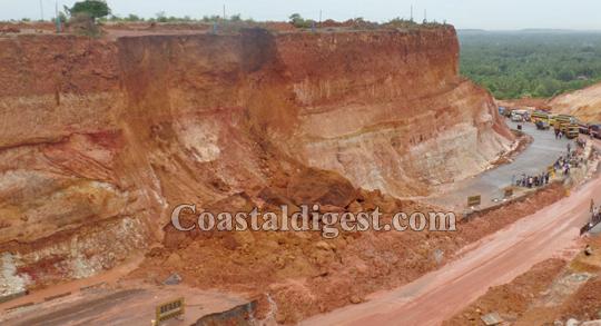 Udupi: Massive landslide at Otthinenne hits NH 66 widening