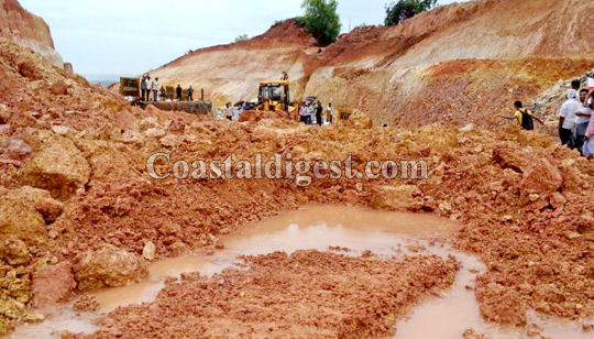 Udupi: Massive landslide at Otthinenne hits NH 66 widening work