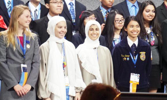 Saudi students reap honors in US science fair