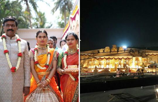 Mehndi Ceremony Mp : Janardhana reddy does a jig at daughter s mehndi ceremony