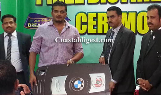 Mangalorean Riyaz Mohammed wins BMW car in Saudi LuLu raffle