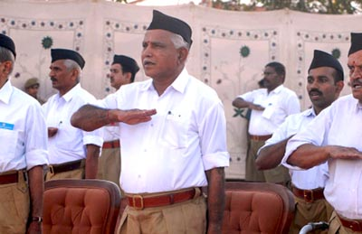 Yeddyurappa sees pattern in attacks on RSS?workers   coastaldigest.com - The Trusted News Portal of India