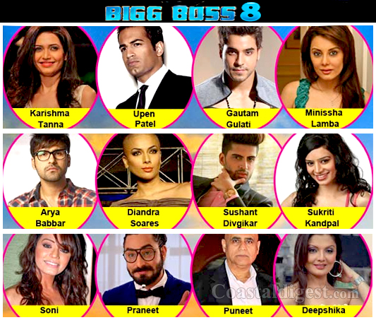 Bigg Boss 8 Begins With Usual Mix of Actors and Models. Brace Yourself