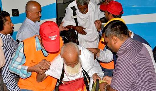 Jeddah: IFF Organizes Hajj Volunteer Service for Indian Pilgrims