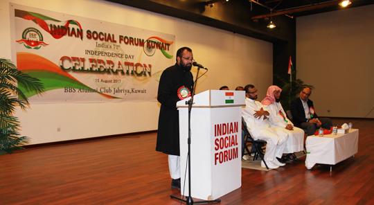 Kuwait: Indian Social Forum celebrates I-Day | Coastaldigest com